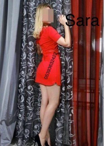 Ankara Rus escort bayan Sara